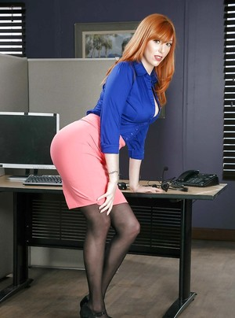 Redhead Butts Porn