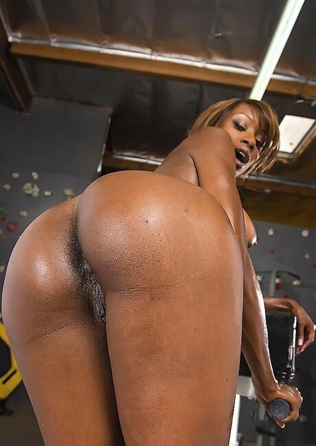 Big Black Butts Porn